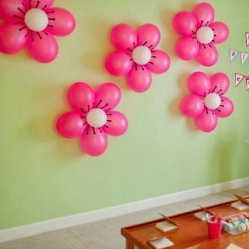 Цветочки на стену 1 шт.
