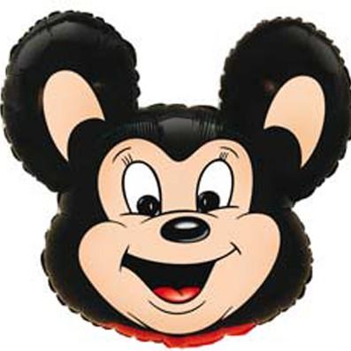 Микки-Маус черный
