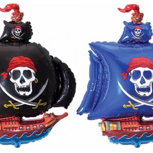 Фольгированная фигура - Пиратский корабль