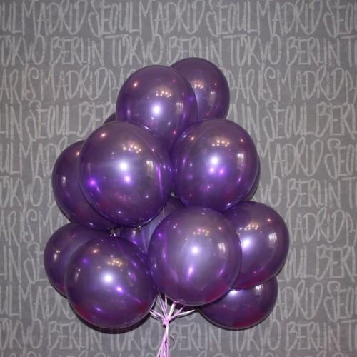 Шарики фиолетовые 15 шт.
