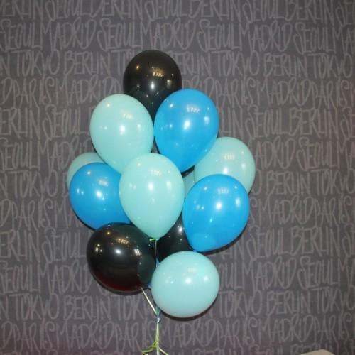 Шарики (черный, голубой, тифани) 15 шт.