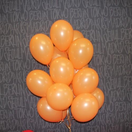 Шарики оранжевые 15 шт.