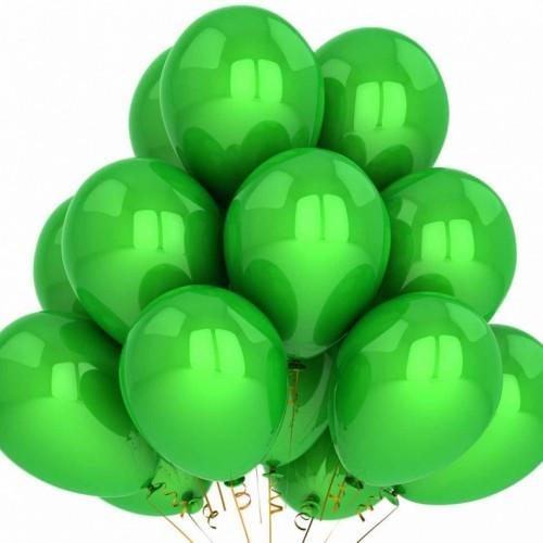 Шарики зеленые 15 шт.