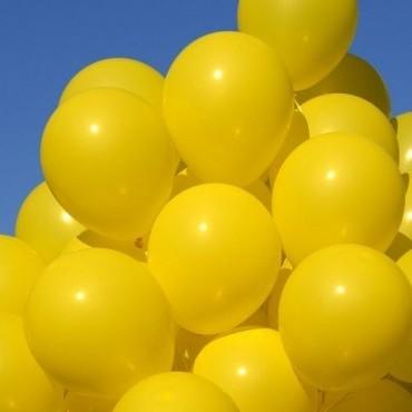 Шарики желтые 15 шт.