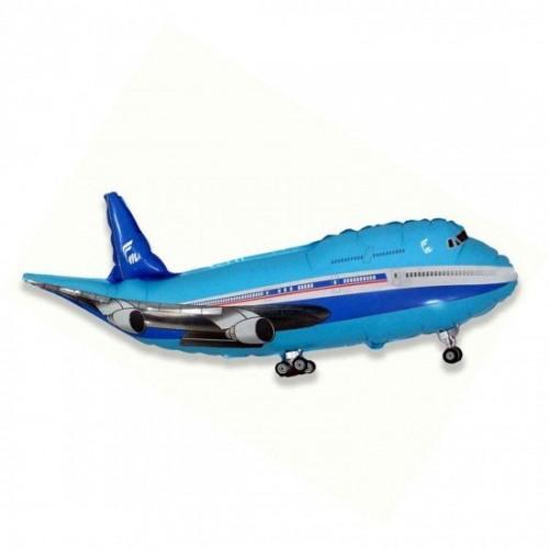 Синий самолет