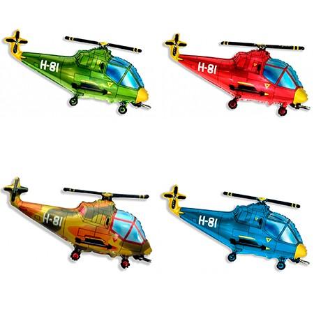 Фольгированная фигура - Вертолет