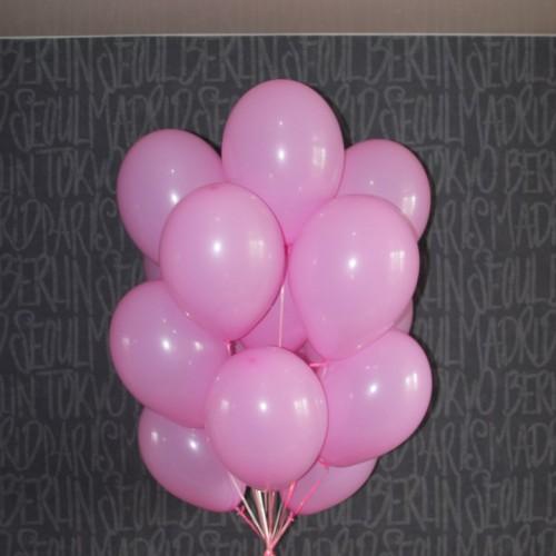 Шарики розовые 15 шт.
