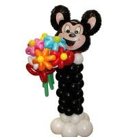 Фигура из воздушных шаров Микки Маус