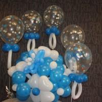 Букет с шариками
