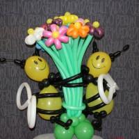 Букет с пчелками