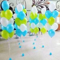 Фонтан из 9 шариков