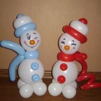 Снеговички он+она